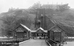 Saltburn-By-The-Sea, Lift And Pier Entrance 1913, Saltburn-By-The-Sea