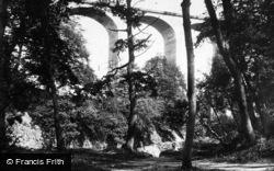 Saltburn-By-The-Sea, Marske Mill Viaduct c.1885