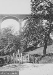Saltburn-By-The-Sea, Marske Viaduct c.1885
