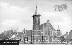 Saltburn-By-The-Sea, Methodist Church c.1960