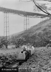 Saltburn-By-The-Sea, Miniature Railway c.1960