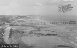Saltburn-By-The-Sea, Sands And Pier 1932