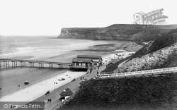 Saltburn-By-The-Sea, Slopes And Promenade 1938