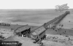 Saltburn-By-The-Sea, The Pier 1891, Saltburn-By-The-Sea