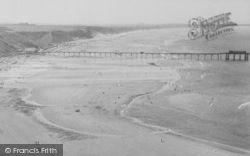 Saltburn-By-The-Sea, The Pier And Sands c.1955
