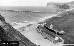Saltburn-By-The-Sea, The Pier c.1955