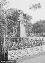 Saltburn-By-The-Sea, The War Memorial c.1960