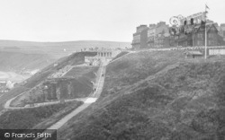 Saltburn-By-The-Sea, View From Windy Hill 1932