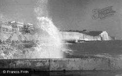 Saltdean, Breaking Waves c.1950