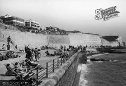 Saltdean, East Promenade c.1950
