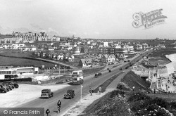 Saltdean, General View Showing Ocean Hotel c.1950