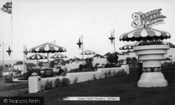 Saltdean, Ocean Hotel Gardens c.1965