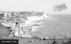 Saltdean, The Front c.1950