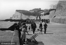 Saltdean, The Promenade c.1950