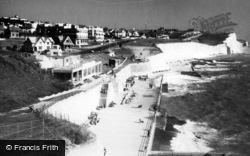 Saltdean, View From Cliffs c.1950
