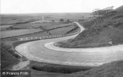Saltergate, Hairpin Bend And The Moors c.1932