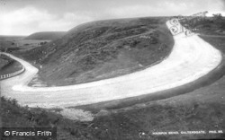 Saltergate, Hairpin Bend c.1932