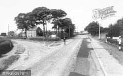 Saltfleet, Church Lane And Warren Road c.1965