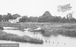 Saltfleet, Haven And The Windmill 1955