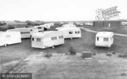 Saltfleet, Kingswood Caravan Site c.1960