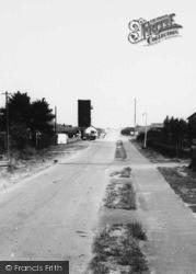 Saltfleet, Sea Lane And The Coastguard Watchtower c.1965