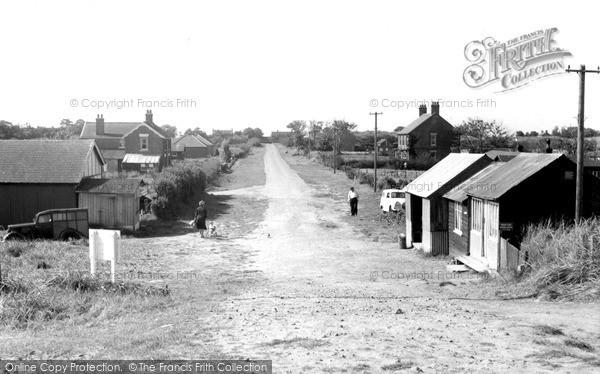 Photo of Saltfleet, Sea Lane c1955