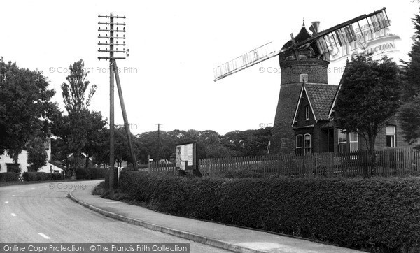Saltfleet,the Mill c1955,Lincolnshire