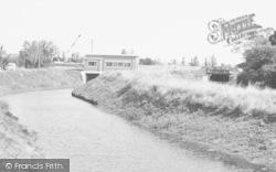 Saltfleet, The River c.1955