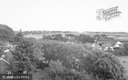 Saltfleet, The Village From The Mill c.1955