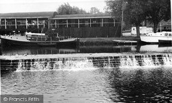 Tea Rooms And Weir c.1955, Saltford