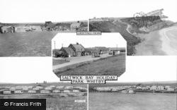 Saltwick Bay, Holiday Park Composite c.1965