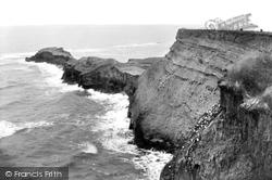 Saltwick Bay, Saltwick Nab 1913