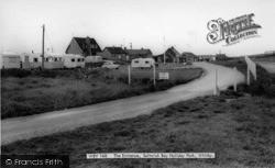 Saltwick Bay, The Entrance, Saltwick Bay Holiday Park c.1965