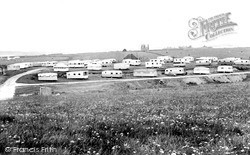 Saltwick Bay, The Holiday Park, North Field c.1965