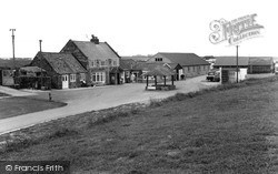 Saltwick Bay, The Holiday Park, Shop And Club House c.1965