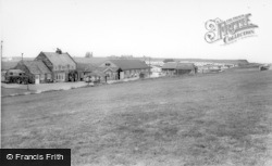 Saltwick Bay, The Holiday Park , Shop And Club House c.1965