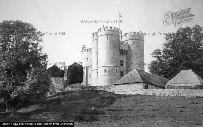 Photo of Saltwood, The Castle 1890