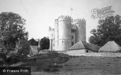 Saltwood, the Castle 1890
