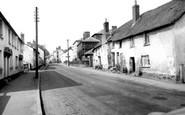 Sampford Peverell, Lower Town c1960