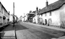 Lower Town c.1955, Sampford Peverell