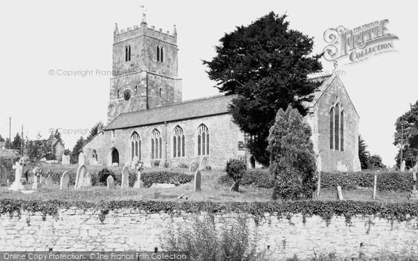 Sampford Peverell, St John the Baptist Church c1960