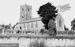 St John The Baptist Church c.1955, Sampford Peverell