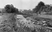 Sampford Peverell, the Canal and Church c1960