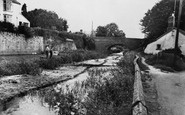 Sampford Peverell, the Canal c1960
