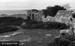 Samson, Remains Of Houses, South Hill c.1955