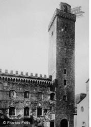 Palazzo Comunale c.1910, San Gimignano