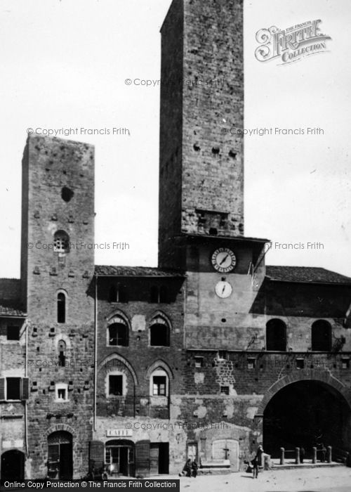 Photo of San Gimignano, Palazzo Vecchio Del Podestà c.1910