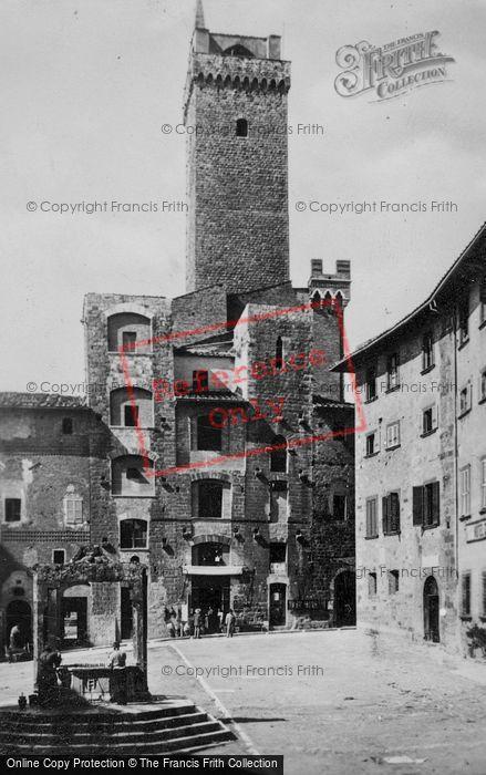 Photo of San Gimignano, Piazza Della Cisterna c.1910