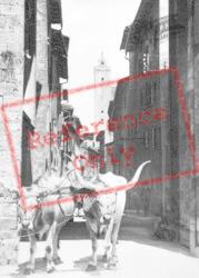 Porta San Giovanni c.1910, San Gimignano