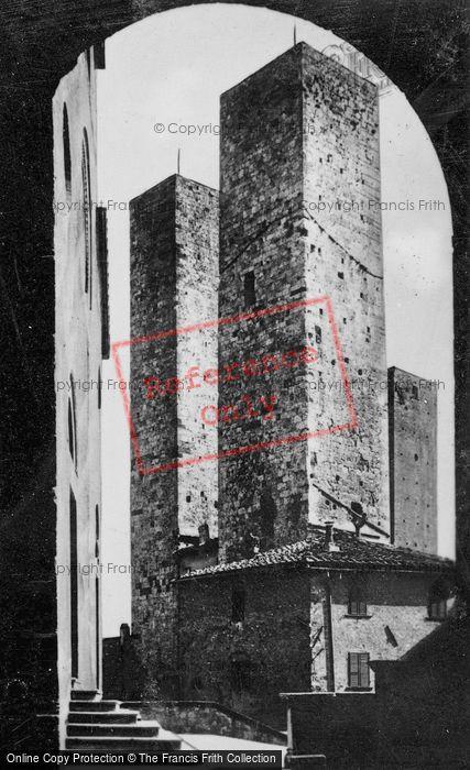 Photo of San Gimignano, Torri Dei Salvucci c.1910